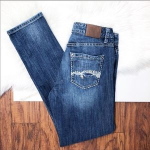 Maurice Denim Skinny Jeans